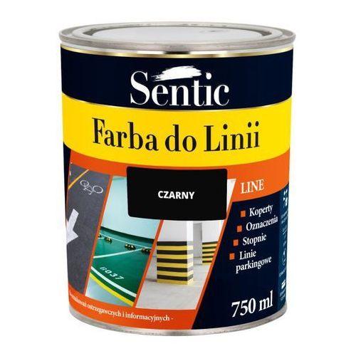 Farba do linii Sentic czarna 750 ml, SFL750CZA