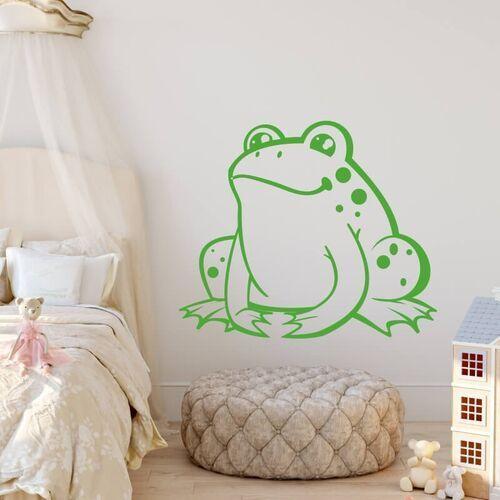 Szablon na ścianę dla dzieci żabka 2390