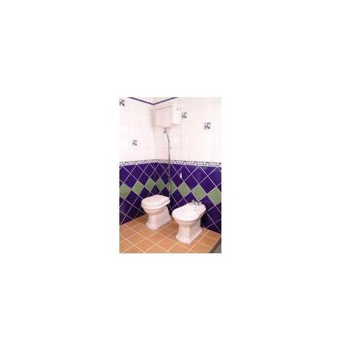 Retro miska wc i zbiornik odpływ pionowy 1010/1080 marki Kerasan