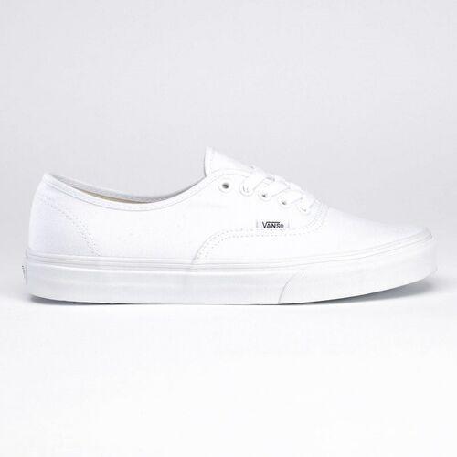 buty VANS - Authentic True White (W00), kolor biały