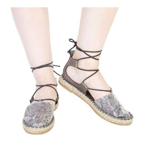 Płaskie buty damskie ANA LUBLIN - RAISSA-55, RAISSA_ANTRACITE-36