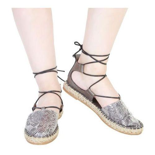 Płaskie buty damskie ANA LUBLIN - RAISSA-55, RAISSA_ANTRACITE-39