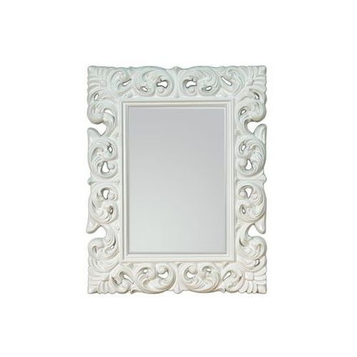 D2.design Lustro wiszące queen 70x90 - biały