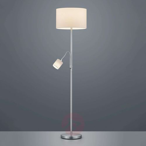Trio leuchten Lampa podłogowa hotel z lampką do czytania, biała (4017807433654)
