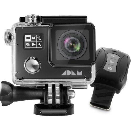 kamera sportowa adam a1 4k, czarna marki Max