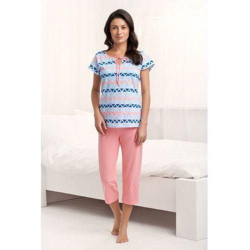Piżama Luna 591 kr/r S-XL M, łososiowy. Luna, L, M, S, XL, 1 rozmiar