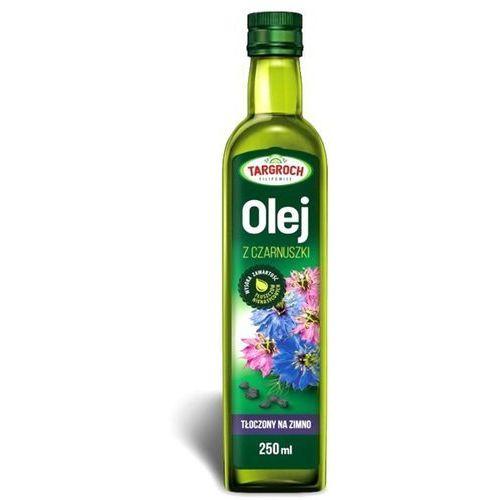 Olej z czarnuszki tłoczony na zimno, nierafinowany 250ml - Targroch