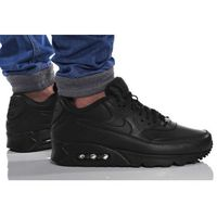 BUTY NIKE AIR MAX 90 LEATHER 302519-001, kolor czarny
