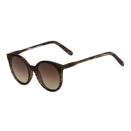 Spektre Okulary słoneczne stardust savana sts03bft/havana striped (gradient tobacco)