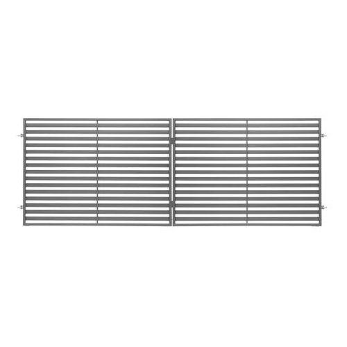 Polbram steel group Brama dwuskrzydłowa brava 350 x 150 cm (5901891479294)