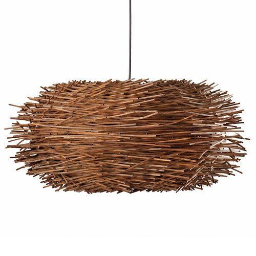 Faro barcelona Faro nido lampa wisząca ciemne drewno, 1-punktowy - rustykalny - obszar wewnętrzny - nido - czas dostawy: od 2-3 tygodni (8421776012301)