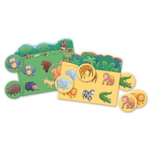 Gra edukacyjna Lotto Djeco - Zwierzęta DJ08120, DJ08120