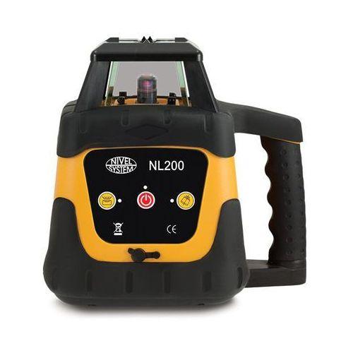Niwelator laserowy Nivel System NL200 Digital + statyw SJJ1 + łata LS-24