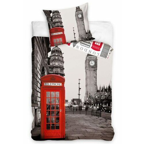 Carbotex pościel bawełniana wieczorny londyn (5902689443527)