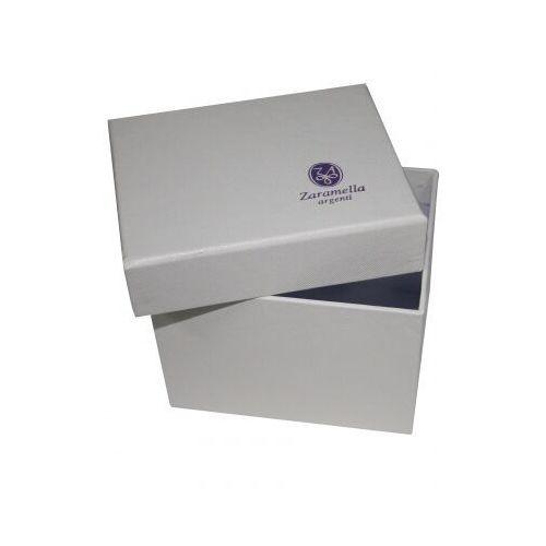 Zaramella Srebrny kubek dla dziecka - wnętrze pozłacane 8 cm