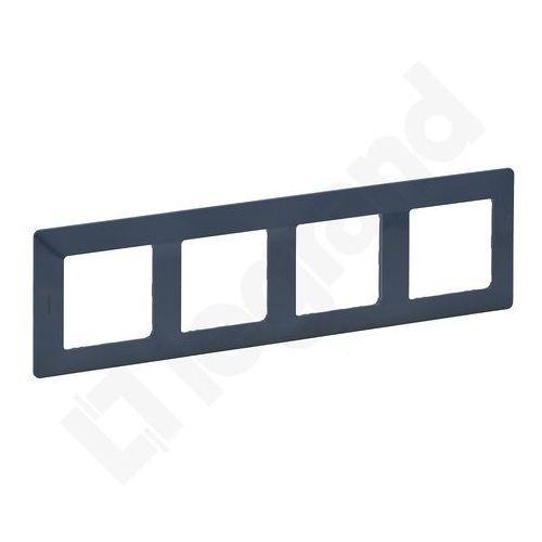 754094 - ramka dla przełączników valena life 4p niebieski lazur marki Legrand