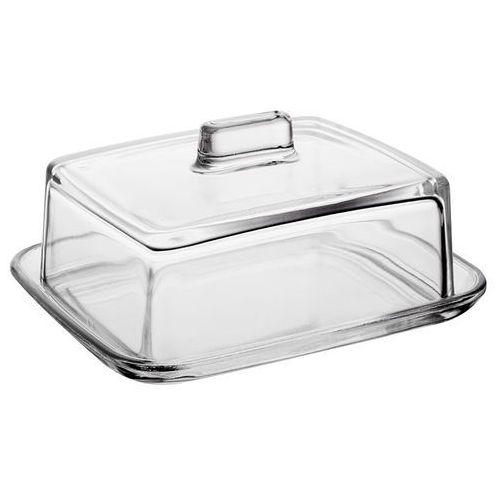 JASŁO - Maselnica szklana 14.5x12 cm