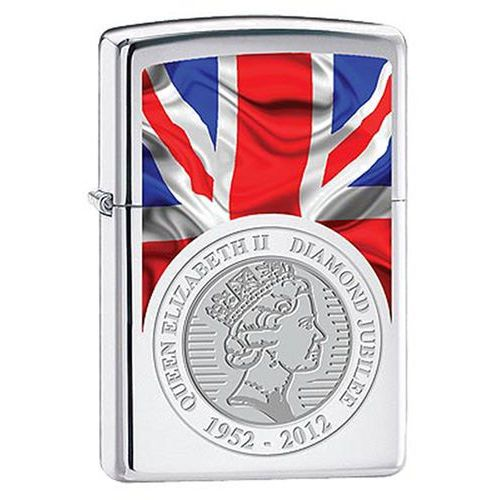 Zapalniczka  queen elizabeth ii, high polish chrome marki Zippo