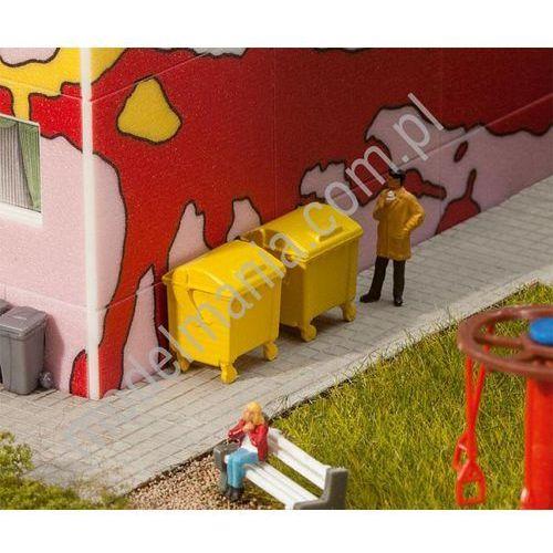Kontener na śmieci, żółte / 2szt. Faller 180913