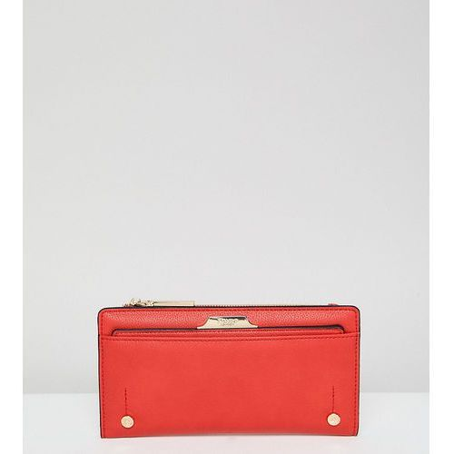 exclusive kerrie red slim purse with removeable cardholder - red marki Dune