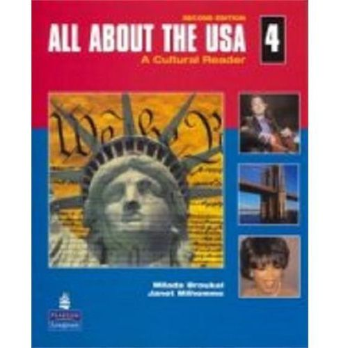 All About The Usa 4 - Book & Audio Cd [Książka Z Płytą Cd], Pearson