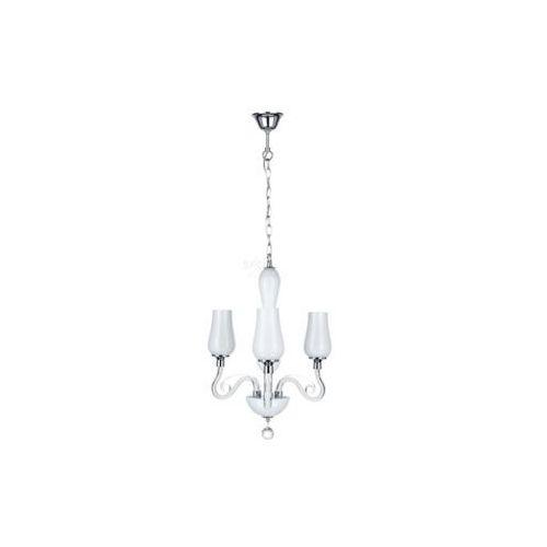 Lampa wisząca zwis Spot Light Lutecja 3x40W E14 biała 9150302 (5901602318560)