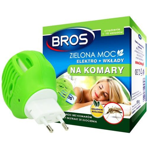 BROS Zielona Moc elektro + wkłady na komary