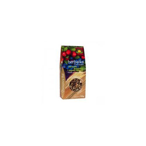 Herbata z owocami borówki brusznicy i jagody czarnej 100g (ziołowa herbata)