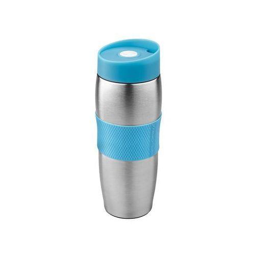 Kubek termiczny nierdzewny capsula 360ml niebieski marki Florentyna