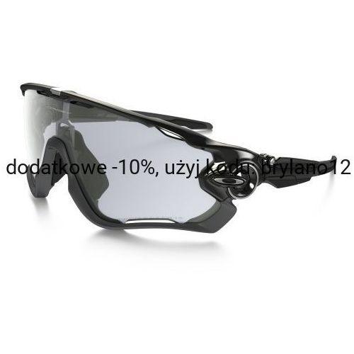 Okulary Oakley Jawbreaker Polished Black Clear Black Iridium Photochromic OO9290-14