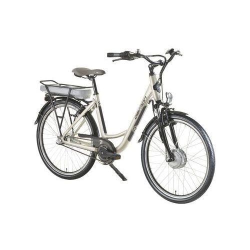 """Rower elektryczny 26120 - model 2016, piaszczysty szary, 18"""" marki Devron"""