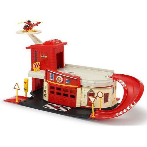 DICKIE zestaw Strażak Sam - Remiza strażacka (4006333038310)