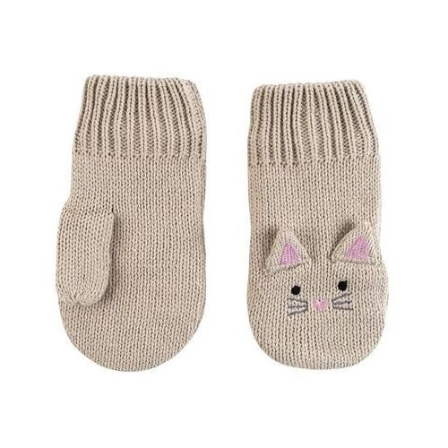 Zoocchini rękawiczki dziecięce kotek 6-12m
