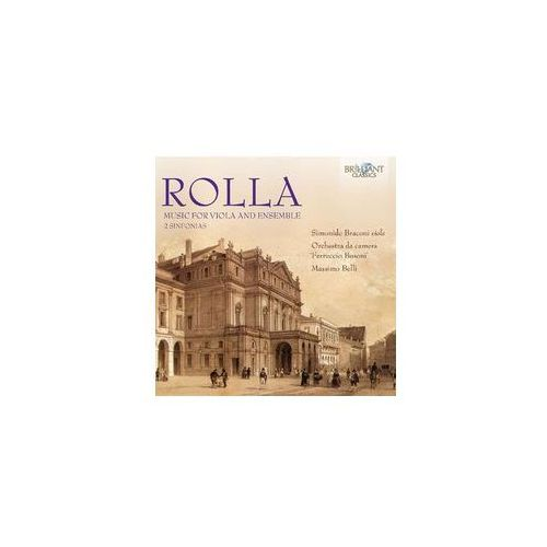 Brilliant classics Rolla: music for viola & ensemble