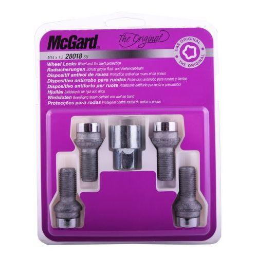 McGard śruby zabezpieczające do felg oryginalnych Seat 28018 SU (4034535280183)