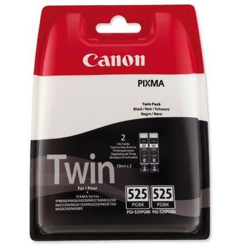 2 x tusz black 525bk, pgi-525, pgi525, 4529b006 marki Canon