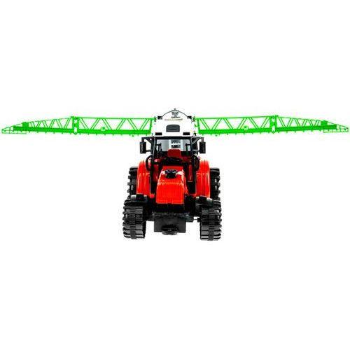 Zestaw dwóch ciągników z maszynami rolniczymi - dla małego rolnika marki Kindersafe