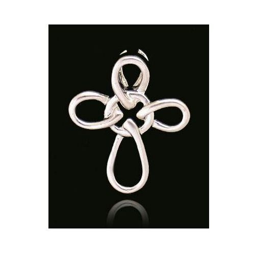 ?wisiorek krzyżyk ,srebro 925 ()