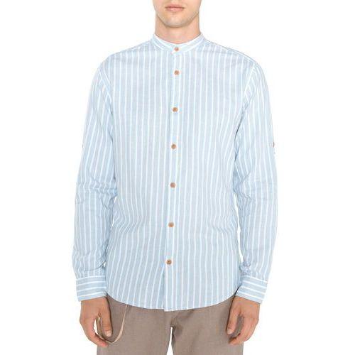 Jack & Jones Springfield Koszula Niebieski L, kolor niebieski