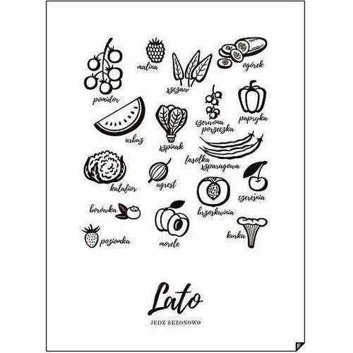 Plakat Lato - Jedz Sezonowo 30 x 40 cm, LATO-3040