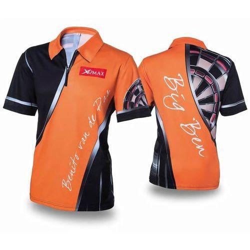 XQmax Darts Replika koszulki meczowej BvdP, pomarańczowa, rozmiar XL (8719407011596)