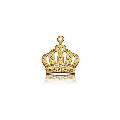 Zawieszka ażurowa korona, złoto próba 585 marki 925.pl
