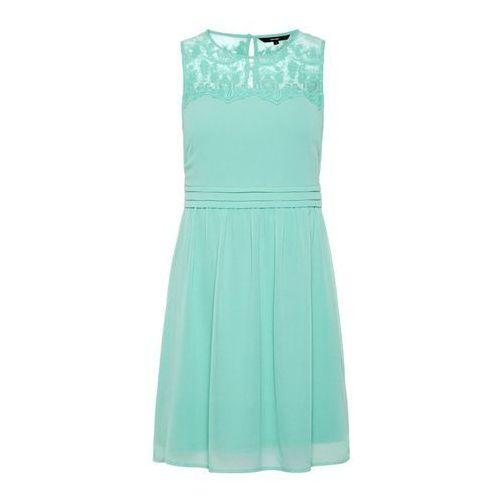 Vero moda letnia sukienka turkusowy