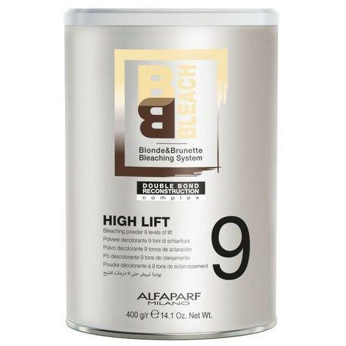 bb high lift rozjaśniacz, puder rozjaśniający do 9 tonów 400g marki Alfaparf