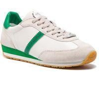 Sneakersy - glorym fm6glr lea12 green marki Guess