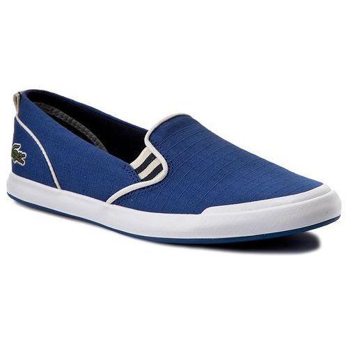 Tenisówki LACOSTE - Lancelle Slip On 117 1 Caw 7-33CAW1035125 Blu, kolor niebieski