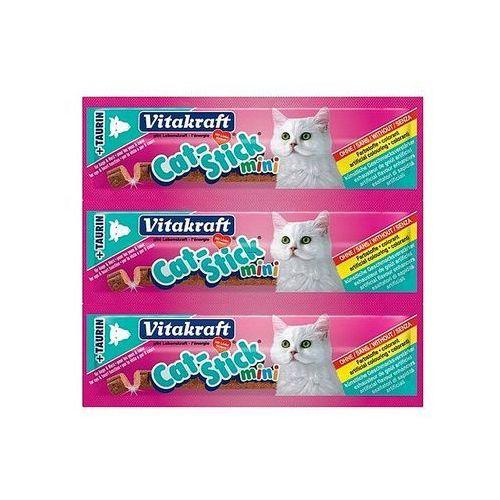 VITAKRAFT Cat stick mini 3szt przysmak kaczka- RÓB ZAKUPY I ZBIERAJ PUNKTY PAYBACK - DARMOWA WYSYŁKA OD 99 ZŁ (4008239182005)