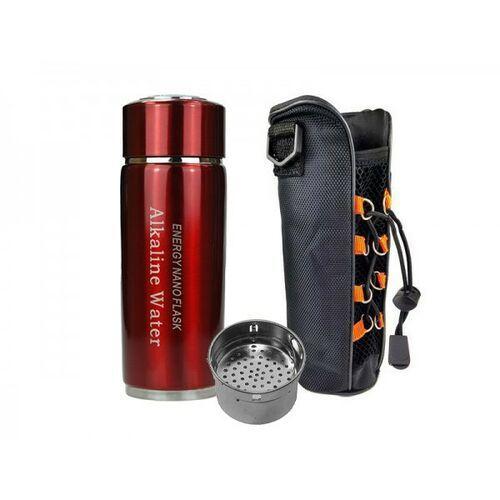 Jonizator wody Water Flask czerwony + filtr i etui GRATIS!
