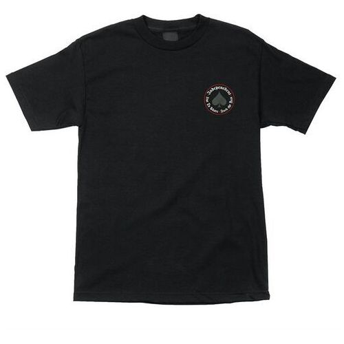 Koszulka - thrasher oath regular t-shirt black (101261) rozmiar: m marki Independent