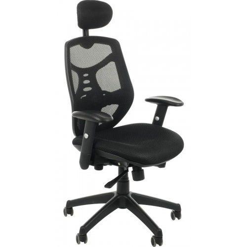 Fotel biurowy gabinetowy KB-8905/CZARNY - krzesło obrotowe, KB-8905/CZARNY